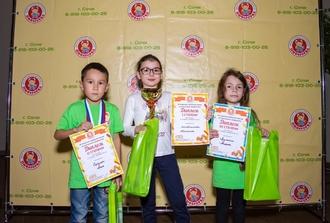 Прошел открытый турнир по ментальной арифметике в г. Сочи